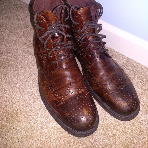 6b596a14366 Men's Aston Grey Wingtip Boots